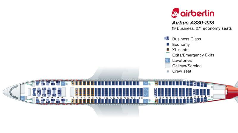airberlin xl seats