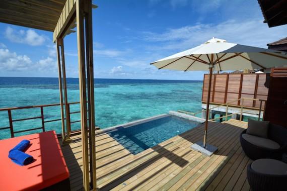 ROBINSON-Club-Maldives_Eröffnung-Wasservillen_2