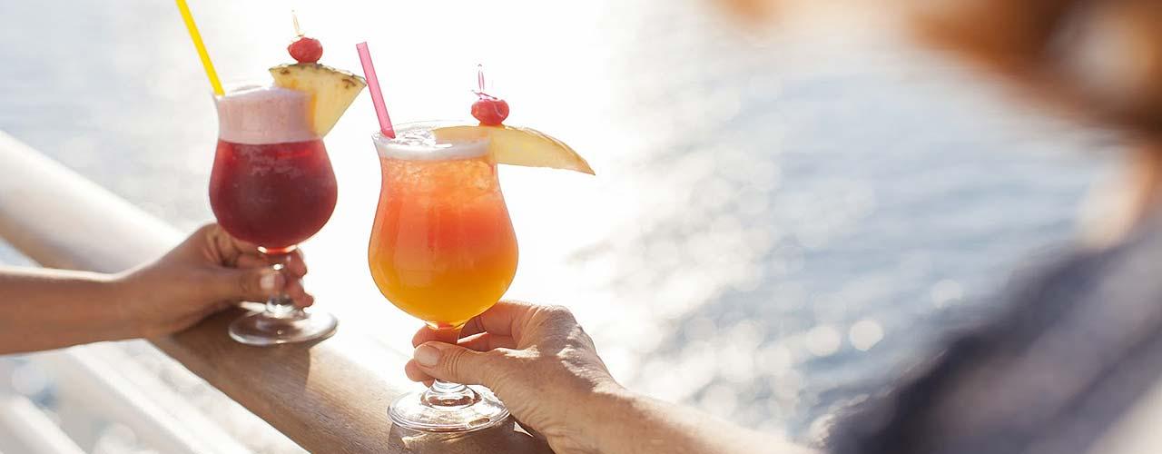 AIDA Cruises stellt vier neue Getränkepakete vor! | Clubreisen 365